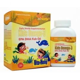 維他康-澳洲-小魚兒寶寶金油丸 Vita Hong Kids Omega-3